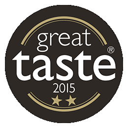 Great Taste Awards 2015 - 2 stars