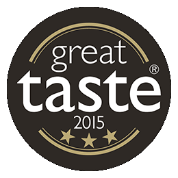Great Taste Awards 2015 - 3 stars