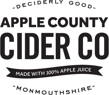 Deciderly good Apple County Cider Co - Made with 100% apple juice - Monmouthshire